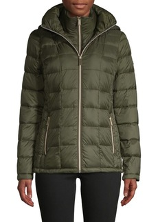 MICHAEL Michael Kors Packable Down-Filled Puffer Jacket