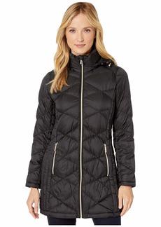 MICHAEL Michael Kors Packable Puffer Jacket with Diamond Quilt M824120TZ