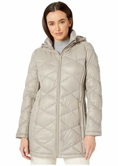MICHAEL Michael Kors Packable Puffer Jacket with Diamond Quilt M824120TZ