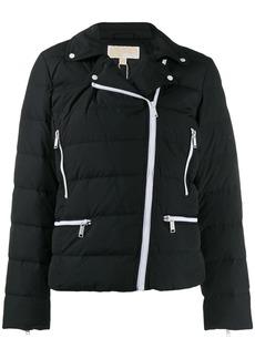 MICHAEL Michael Kors padded biker jacket