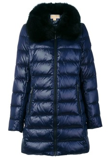 MICHAEL Michael Kors padded jacket with fox fur collar