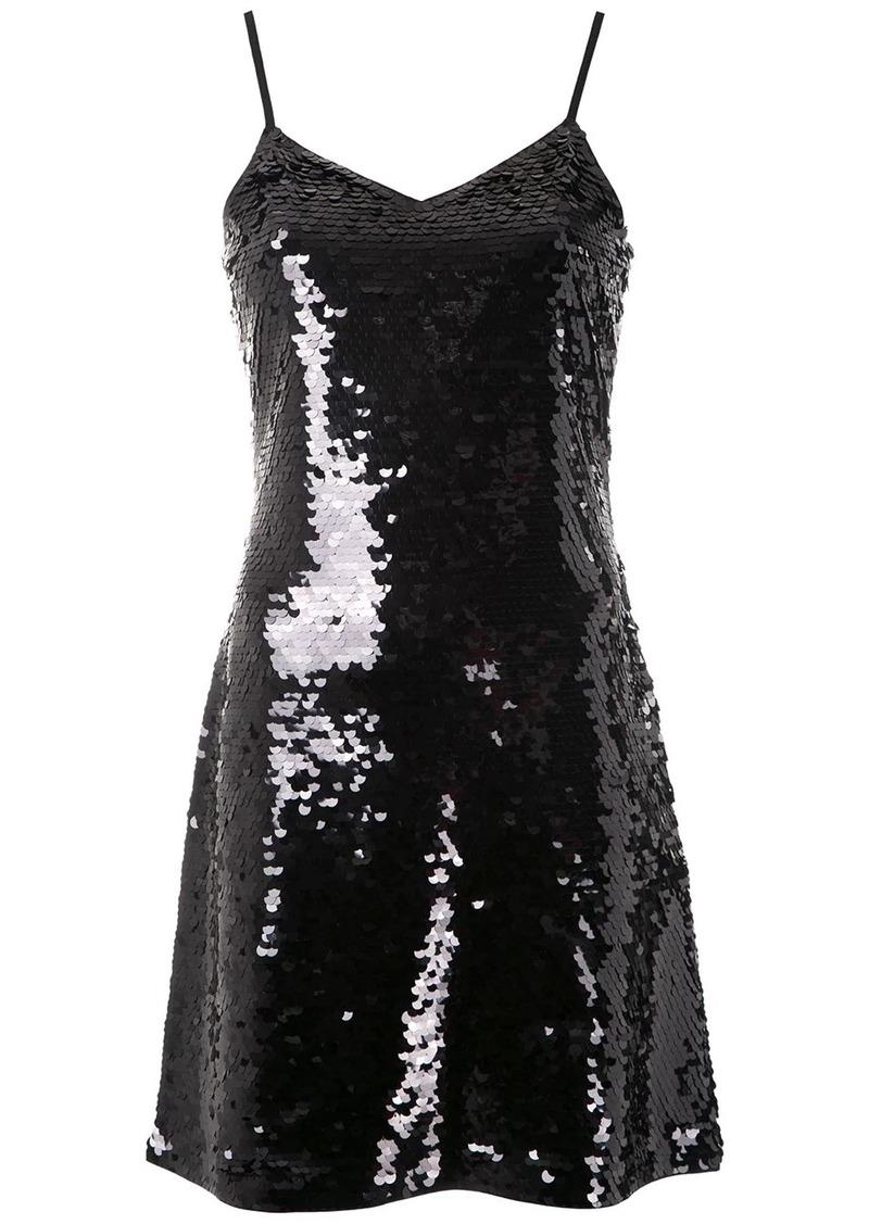 MICHAEL Michael Kors sequin embellished crepe dress