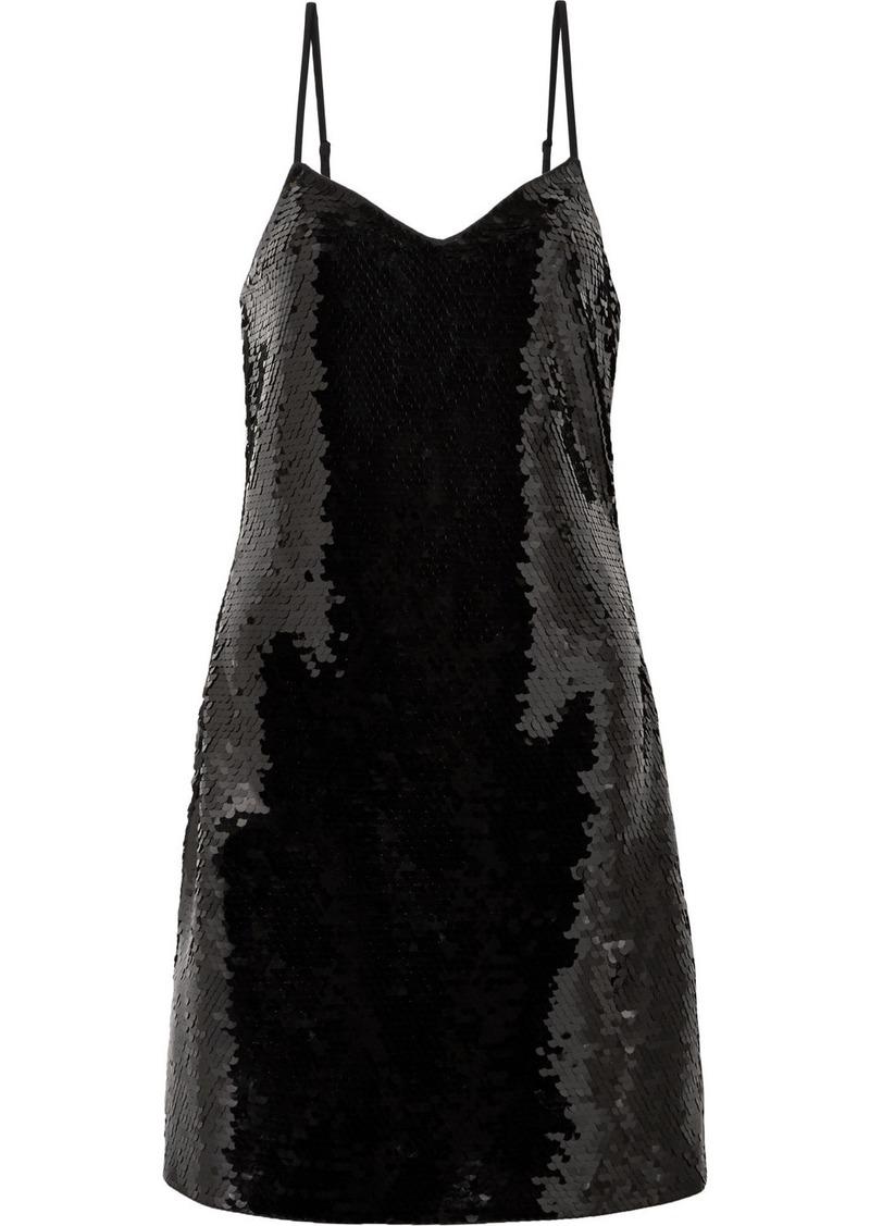 MICHAEL Michael Kors Paillette-embellished Jersey Mini Dress