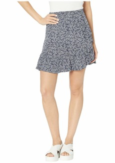 MICHAEL Michael Kors Painterly Reef Ruffle Skirt
