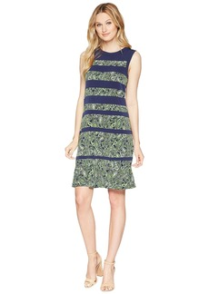 MICHAEL Michael Kors Paisley Paneled Sleeveless Dress