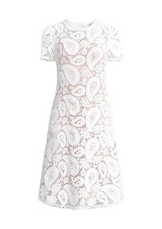 MICHAEL Michael Kors Paisley Crochet Dress