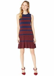 MICHAEL Michael Kors Paisley Paneled Sleeveless Dress