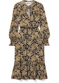 MICHAEL Michael Kors Paisley-print Stretch-jersey Midi Dress