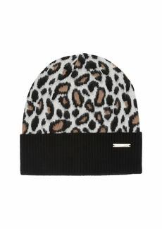 MICHAEL Michael Kors Patchwork Animal Cuff Hat