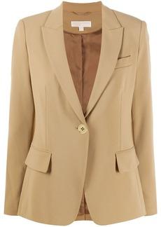MICHAEL Michael Kors peak lapel single-breasted blazer
