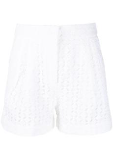 MICHAEL Michael Kors perforated design shorts