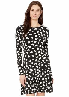 MICHAEL Michael Kors Petal Passion Flounce Dress