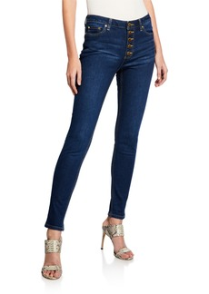 MICHAEL Michael Kors Pino Button Fly Denim Pants