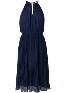 MICHAEL Michael Kors pleated flared dress