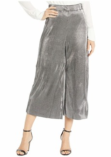 MICHAEL Michael Kors Pleated Metallic Pants
