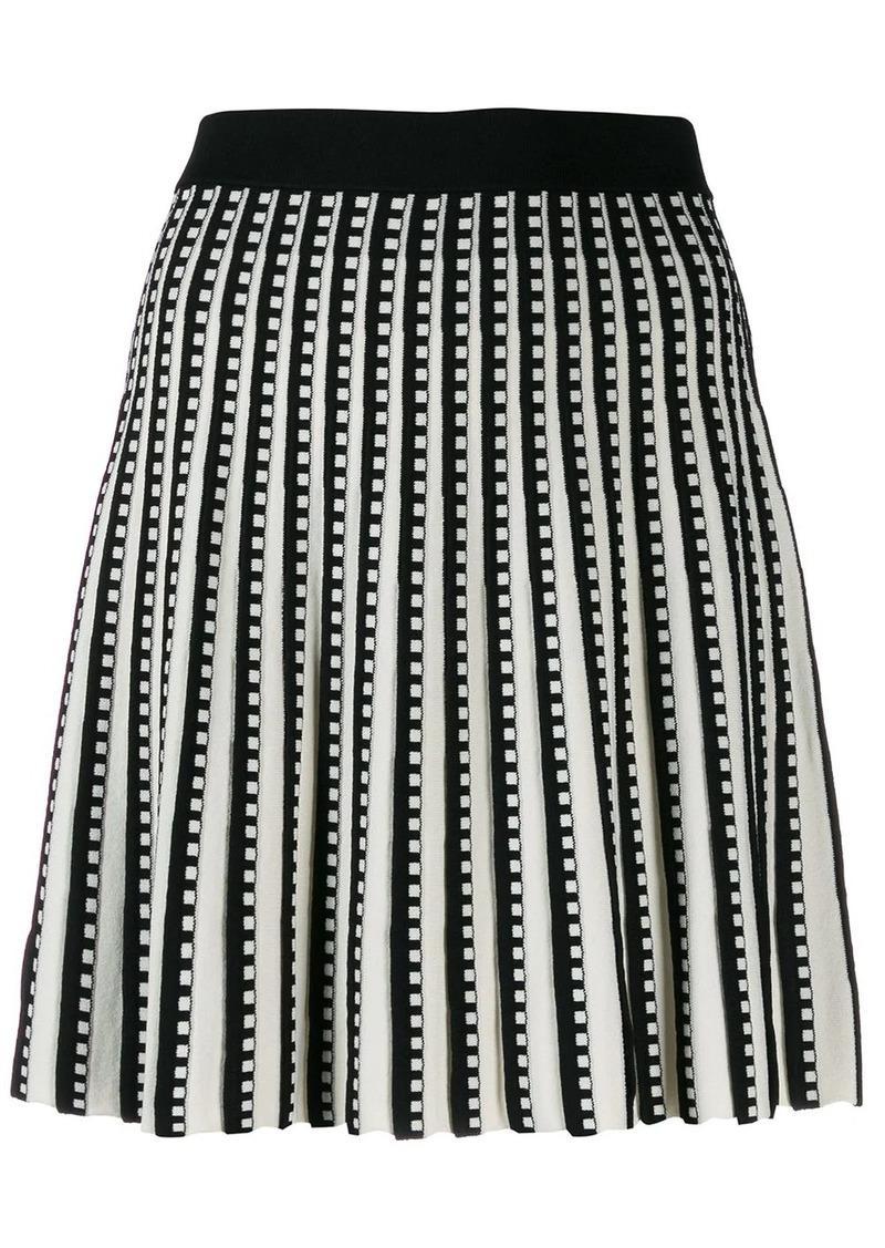 MICHAEL Michael Kors pleated mini skirt