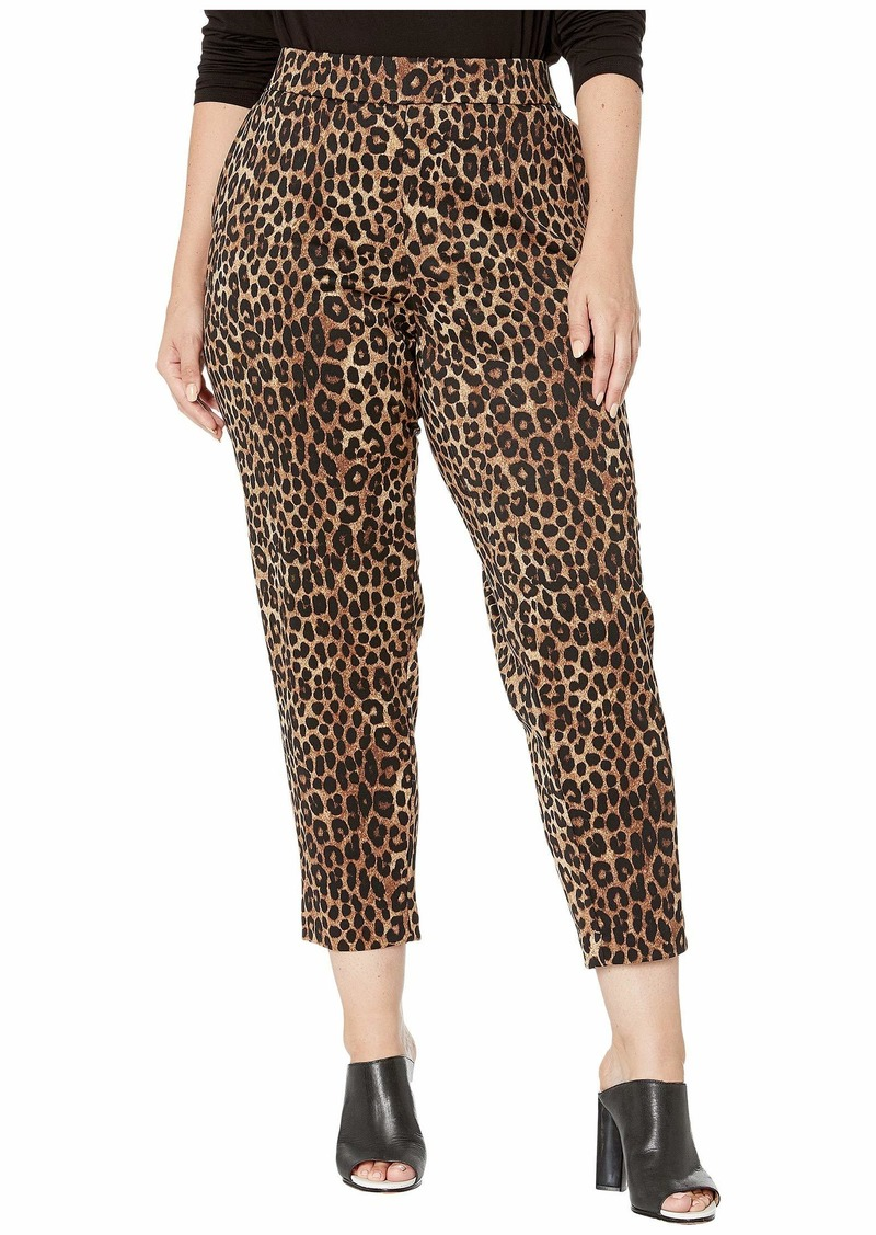 MICHAEL Michael Kors Plus Size Cheetah Pull-On Trousers
