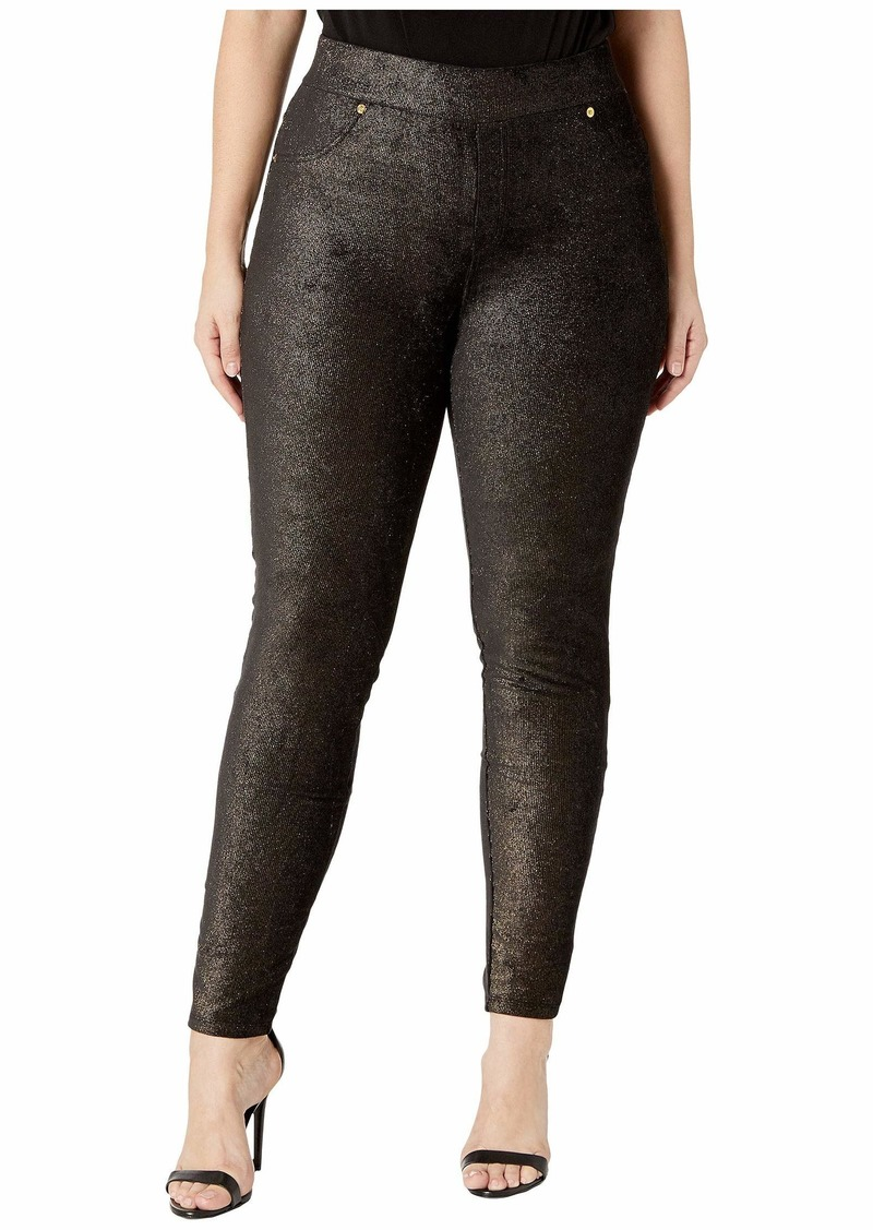 MICHAEL Michael Kors Plus Size Foil Pull-On Leggings