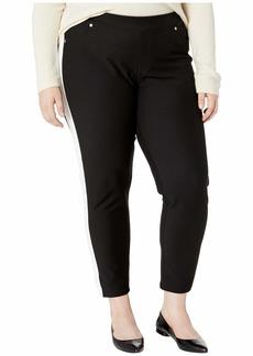 MICHAEL Michael Kors Plus Size Stripe Pull-On Leggings