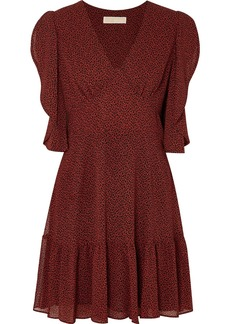 MICHAEL Michael Kors Printed Crepe Mini Dress