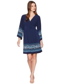 MICHAEL Michael Kors Printed Deep Vee Dress