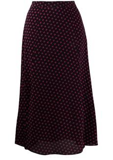 MICHAEL Michael Kors printed midi skirt