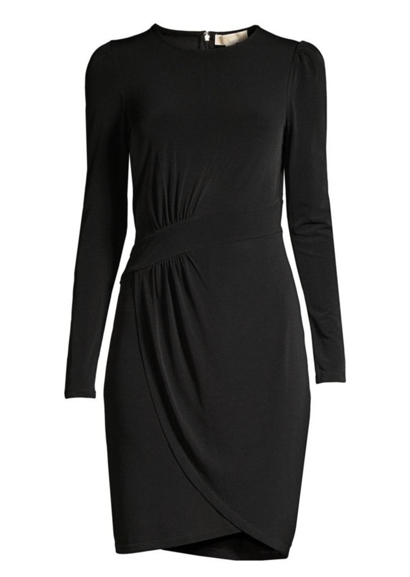 MICHAEL Michael Kors Puff Sleeve Sheath Dress