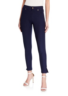 MICHAEL Michael Kors Pull-On Leggings with Side Slit