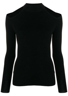 MICHAEL Michael Kors cut-out shoulder jumper