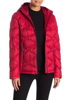 MICHAEL Michael Kors Quilted Packable Jacket