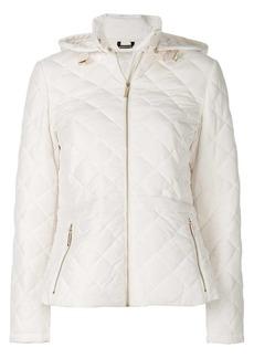MICHAEL Michael Kors quilted peplum jacket