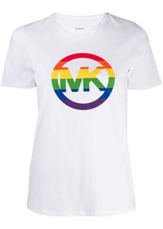 MICHAEL Michael Kors rainbow logo T-shirt