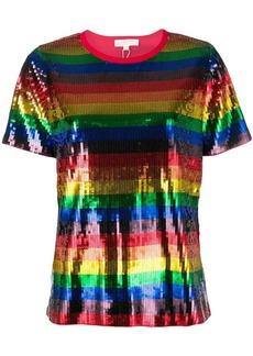 MICHAEL Michael Kors Rainbow pailette T-shirt