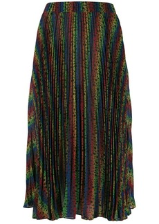 MICHAEL Michael Kors rainbow pleated skirt