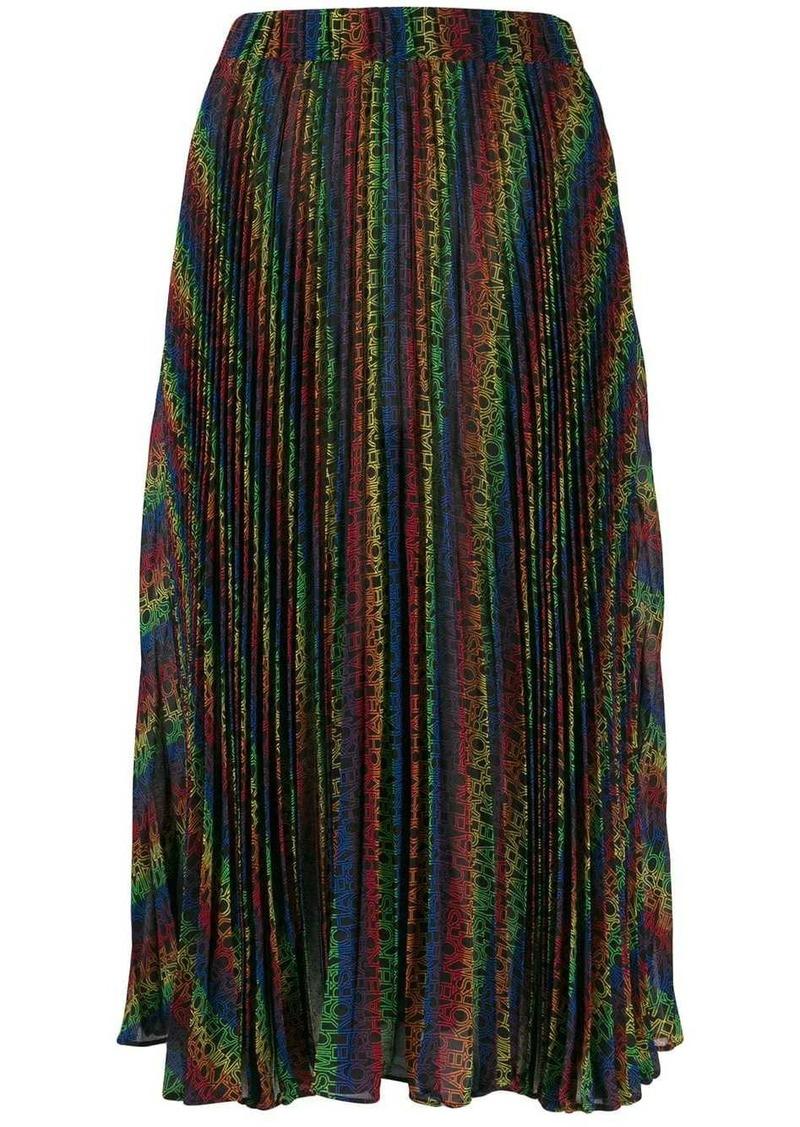 MICHAEL Michael Kors rainbow pleated skirt