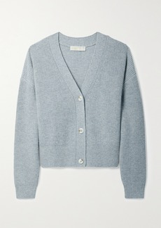 MICHAEL Michael Kors Ribbed-knit Cardigan