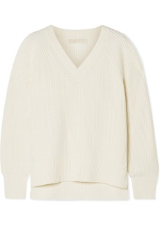 MICHAEL Michael Kors Ribbed-knit Sweater
