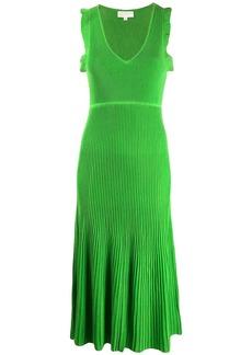 MICHAEL Michael Kors ribbed midi dress