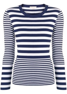 MICHAEL Michael Kors ribbed striped jumper