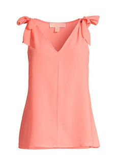 MICHAEL Michael Kors Ring-Tie Sleeveless Top