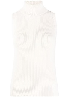 MICHAEL Michael Kors roll-neck sleeveless jumper