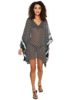 Rope Geo V-Neck Cover-Up Tunic