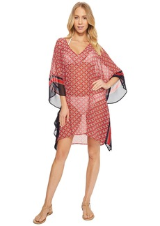 MICHAEL Michael Kors Rope Geo V-Neck Cover-Up Tunic