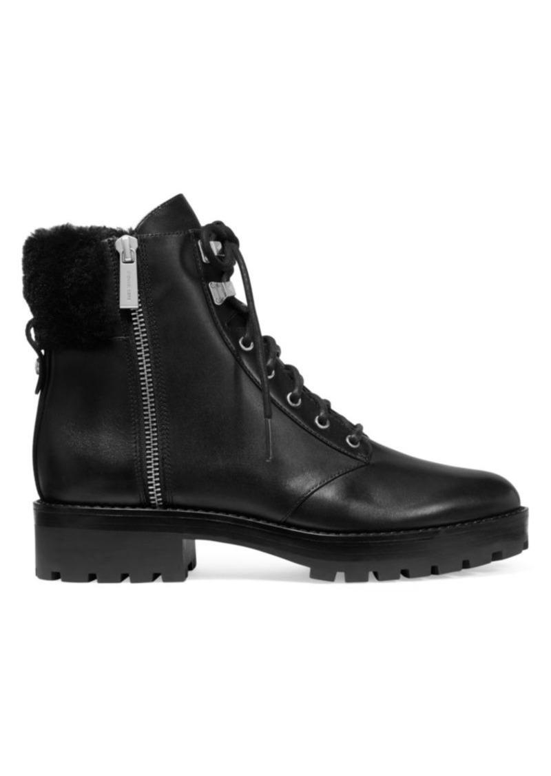 MICHAEL Michael Kors Rosario Side Zip Leather Boots