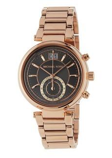 MICHAEL Michael Kors Rose Golden Gunmetal Bracelet Watch