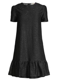 MICHAEL Michael Kors Ruffle Hem Tee Dress