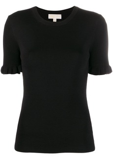 MICHAEL Michael Kors ruffle-sleeve knit top