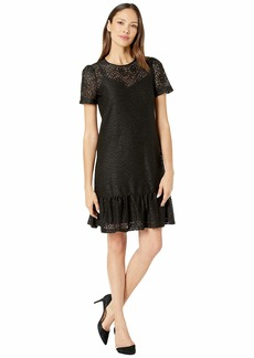MICHAEL Michael Kors Ruffle Tee Dress