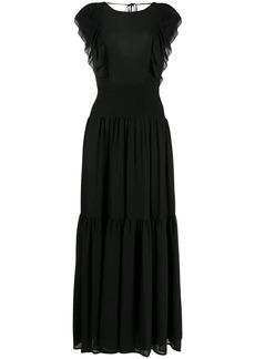 MICHAEL Michael Kors ruffle-trimmed maxi dress