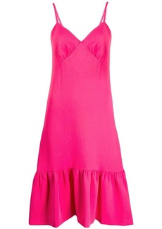 MICHAEL Michael Kors ruffled hem dress